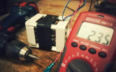 BGV-A3-Prüfung auch beim Einphasen-Wechselstrommotor erforderlich